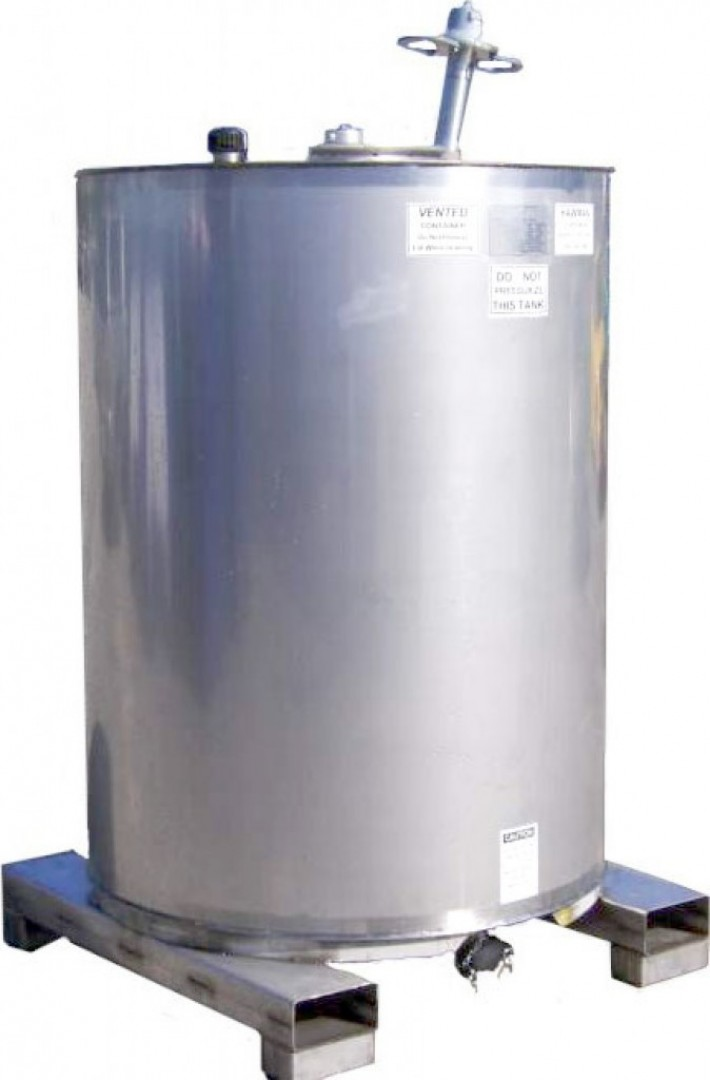 1288 Litre Stainless Steel Tote S Series Hawman